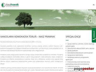 Nasz Prawnik Kancelaria Adwokacka w Toruniu