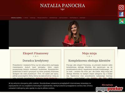 Doradca Finansowy - Natalia Panocha