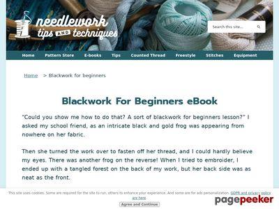 Blackwork for beginners new ebook