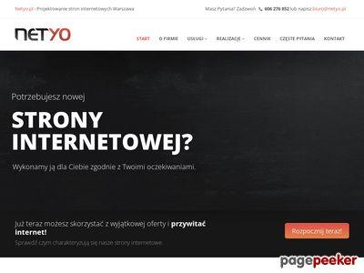 Netyo - tworzenie stron