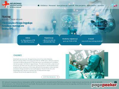 Neuromag - Chirurgia kręgosłupa