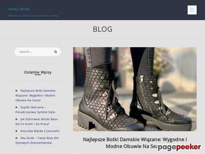 Blog dla każdej Pani o trendach modowych