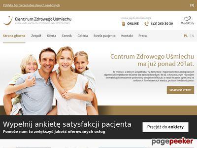 Stomatologia Kraków - ortodonta, implanty