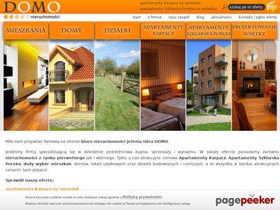 Www.nieruchomosci-domo.pl - Apartamenty Karpacz na sprzedaż