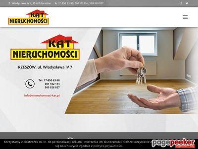 Nieruchomości Rzeszów, mieszkania, domy, działki