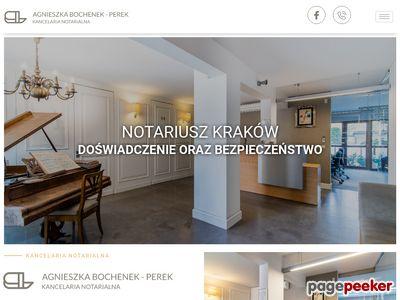 LUDŹMIERSKI, BOCHENEK-PEREK Notariat kraków