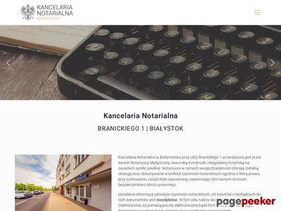 Kancelaria Notarialna M.Jaworska-Kondrusik, M.Kotyńska s.c.