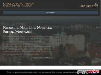 Notariusz Bartosz Masłowski