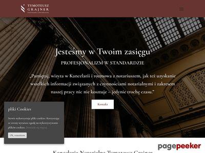 Kancelaria notarialna Michał Grajner i Partner