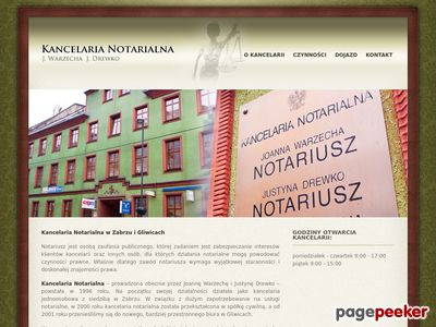 Kancelaria Notarialna notariusze gliwice