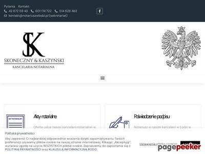 J. SKONECZNY, D.J. KASZYŃSKI biuro notarialne Łódź