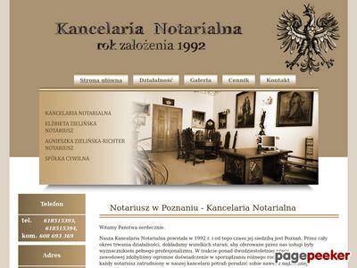 Kancelaria notarialna - Zielińska Poznań