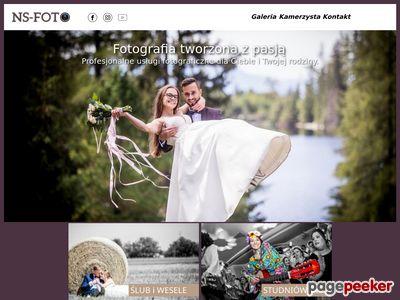 NS-FOTO fotograf na wesele - fotografia ślubna Nowy Sącz