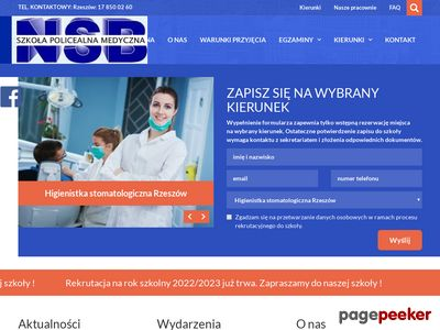 Www.nsb.com.pl - szkoły policealne