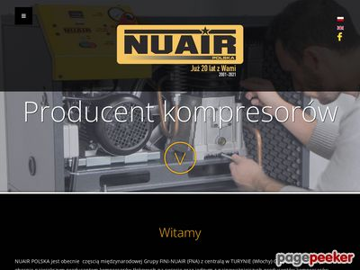 Producent kompresorów - nuair.pl