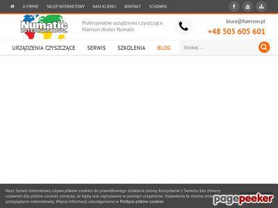 Numatic-haerson.pl - maszyna czyszcząca podłogi
