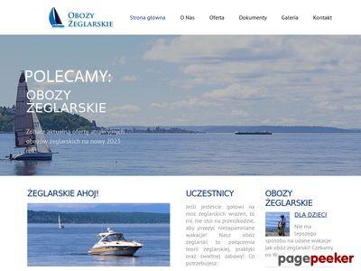 Obozy-zeglarskie.org.pl - obozy żeglarskie
