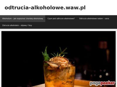 Odtrucia alkoholowe - Warszawa