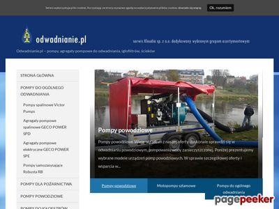 www.Odwadnianie.pl