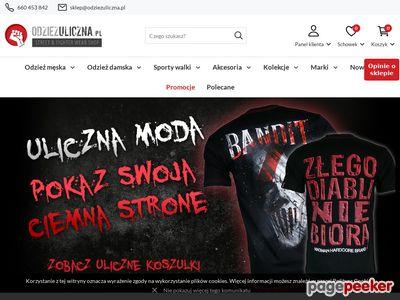 Profesjonalna odzież dla kibiców - odziezuliczna.pl