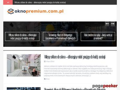 Okno - Premium stolarka okienna