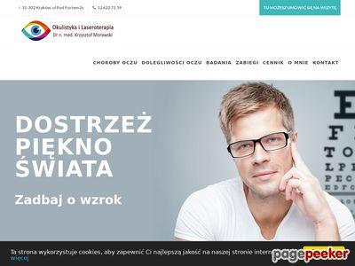 Okulista Dr med. Krzysztof Morawski