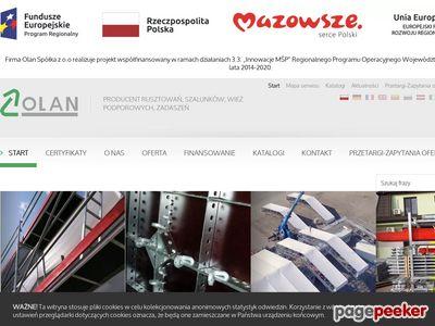 Olan.siedlce.pl- maszty, rusztowania