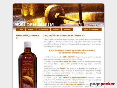 Olej lniany Omega 3 NNKT