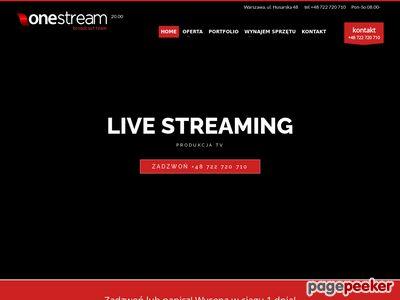 Transmisje online Warszawa