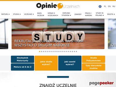 Uczelnie wyższe w Polsce