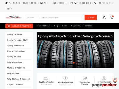 Sprawdź sklep opony-tanio.net