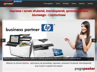 Serwis drukarek Częstochowa bezpłatna diagnoza laptopów