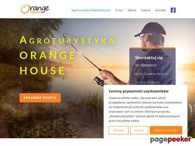 Noclegi świętokrzyskie-Orange-House