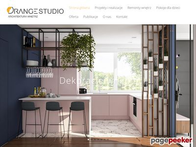 Projektowanie wnętrz - Orange Studio