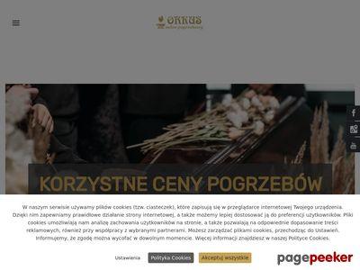 ORKUS ŁUKASZ DOMAGAŁA wieńce Szczecin