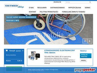 Www.ortmed.pl - Sprzęt ortopedyczny