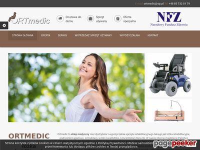 Elektryczne wózki inwalidzkie Białystok