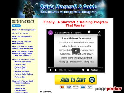 The Osiris Method - The Best Starcraft 2 Strategy Guide -