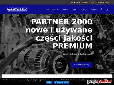 Partner 2000 - Części samochodowe
