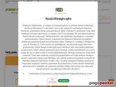 Pack4you.pl paczki do Anglii, palety krajowe