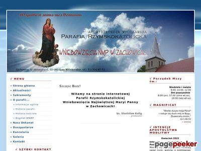 Parafia Wniebowzięcia NMP w Zachowicach