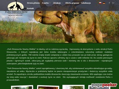 PARK DINOZAURÓW dinozaury lubuskie