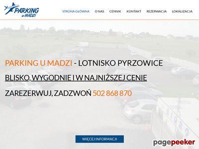 Parking lotnisko Pyrzowice