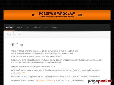 P.C. Serwis Wrocław - Informatyk