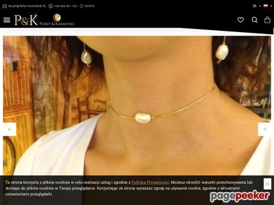 Www.perlyikamienie.pl - biżuteria srebrna