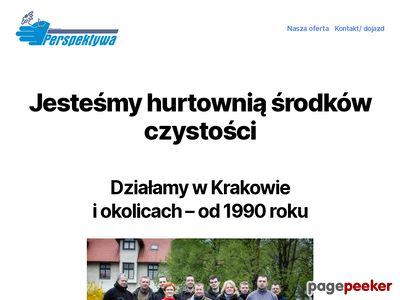 Środki czystości - hurtownia Perspektywa Kraków
