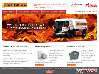 Hurtowa sprzedaż paliw Petropol