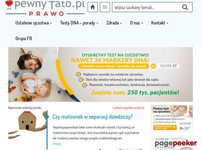 Badanie DNA na ustalanie ojcostwa