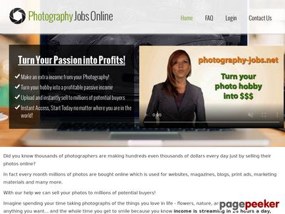 Photography Jobs - Submit Your Photos Online and Get Paid!