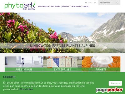 PhytoArk (Sion) - A visiter!